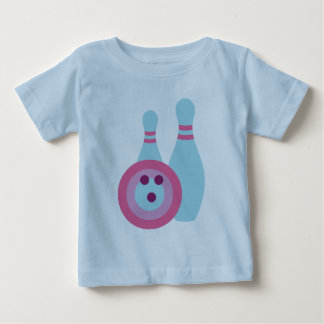 Bowling Ball and Pins Infant T-Shirt