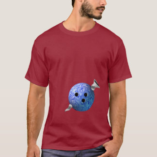 Bowling Ball and Screw T-Shirt