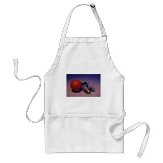 Bowling Ball And Shoes Apron