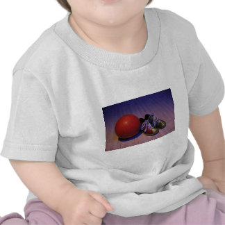 Bowling Ball And Shoes T Shirts