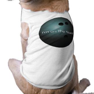 Bowling Ball Dog Shirt