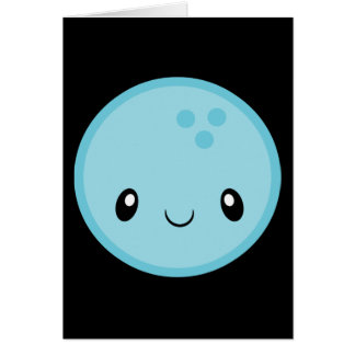 Bowling Ball Emoji Card