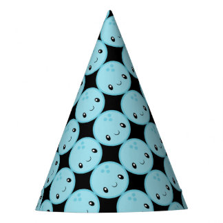 Bowling Ball Emoji Party Hat