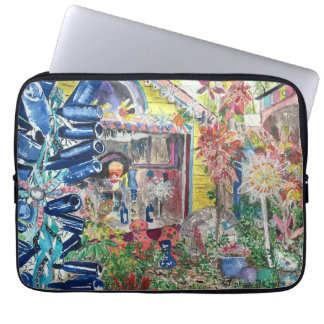 "Bowling Ball House 13"" Laptop Sleeve"