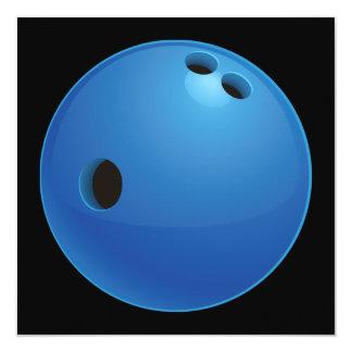 Bowling Ball Invitation