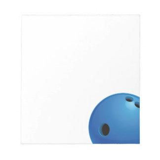 Bowling Ball Notepad