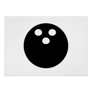 Bowling Ball Poster