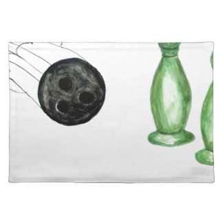 Bowling Ball Sketch3 Placemat