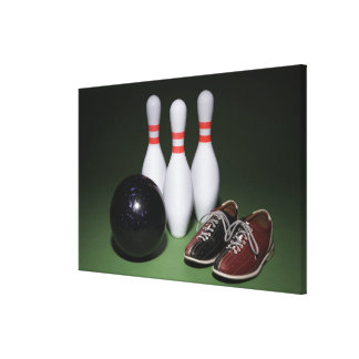Bowling Ball Stretched Canvas Prints