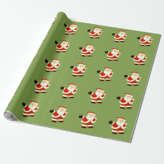 bowling Christmas Wrapping Paper