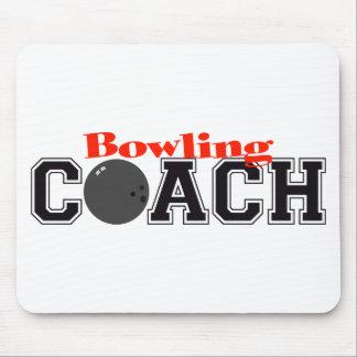 Bowling Coach Mouse Pad