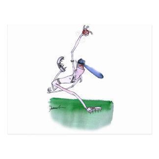 BOWLING - cricket, tony fernandes Postcard