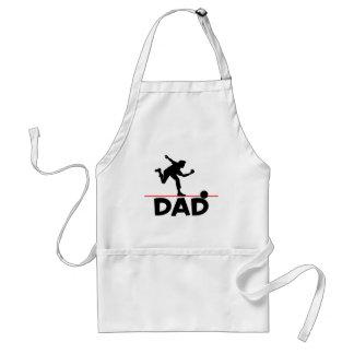 Bowling Dad Apron