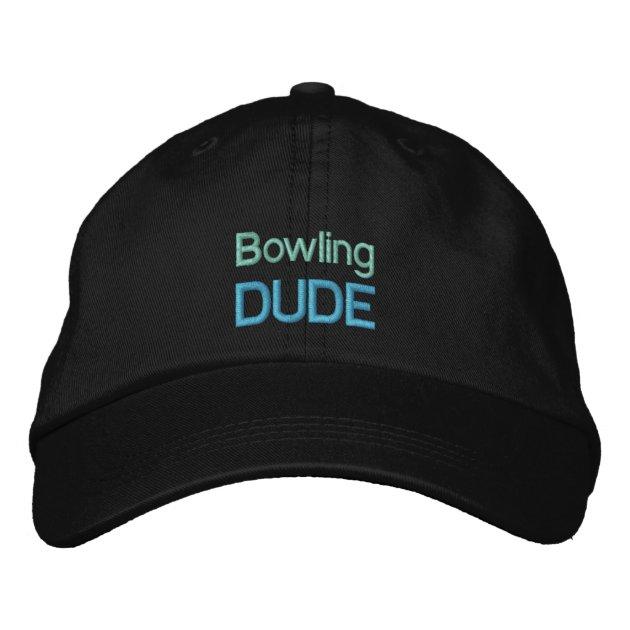 Bowling Dude Cap Zazzle Com Au