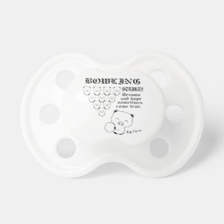 Bowling Baby Pacifiers