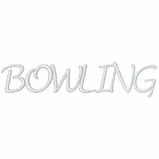 Bowling Embroidered Hooded Sweatshirt