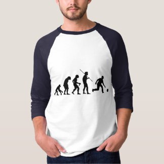 bowling evolution from man to bowler tee shirts