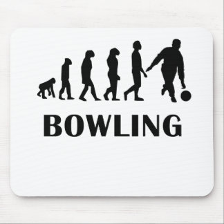 Bowling Evolution Mouse Pads