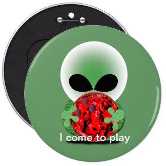 Bowling Fan 6 Cm Round Badge