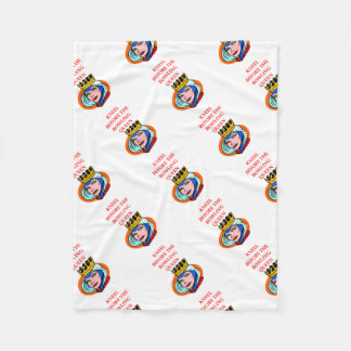 bowling fleece blanket