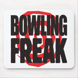 Bowling Freak Mouse Pads