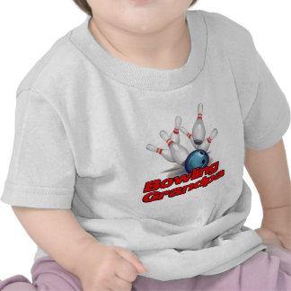 Bowling Grandpa strike).png Tshirt