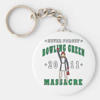 Bowling Green Massacre 2011 Basic Round Button Key Ring