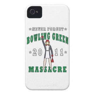 Bowling Green Massacre 2011 iPhone 4 Case
