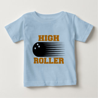Bowling High Roller Bowler Tee Shirts