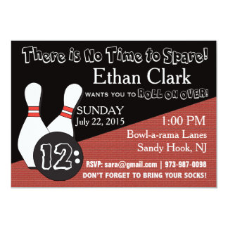 Bowling Invitation for Everyone!