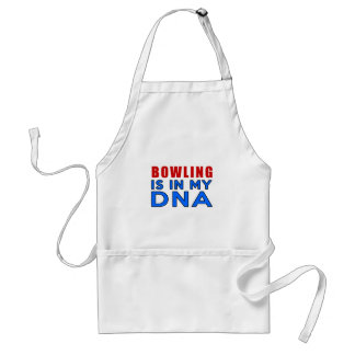 BOWLING IS IN MY DNA STANDARD APRON