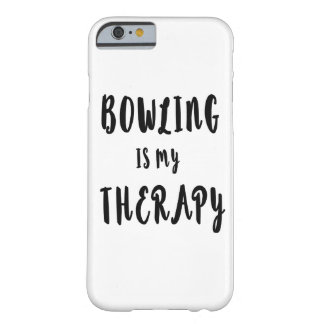 Bowling is my Therapy Barely There iPhone 6 Case