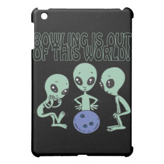 Bowling Is Out Of This World iPad Mini Cover