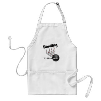 Bowling It's Right Up My Alley Aprons