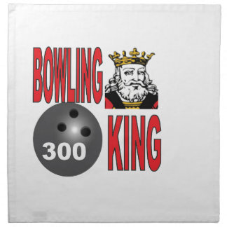 bowling king 300 yeah napkin