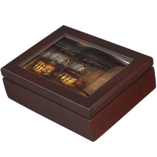 Bowling - Life in the gutter 1910 Keepsake Box