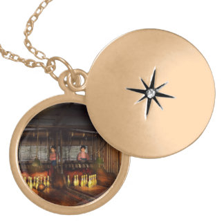 Bowling - Life in the gutter 1910 Locket Necklace