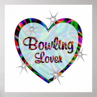 Bowling Lover Print