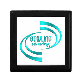 Bowling Makes Me Happy Gift Box
