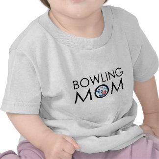 Bowling Mom Tshirts