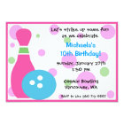 Bowling Party -Girl Card