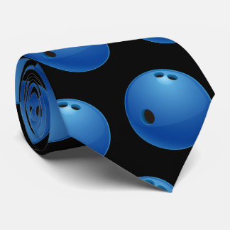 Bowling Pattern | Sport Gifts Tie