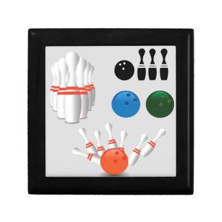 bowling pins gift box