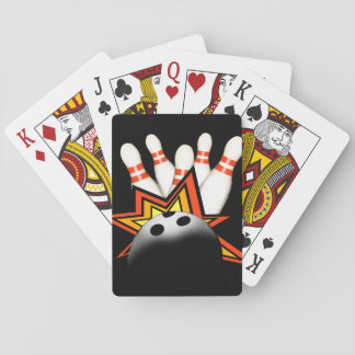Bowling Playing Cards