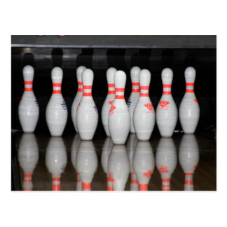 Bowling Post Card