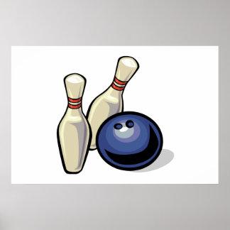 Bowling Print