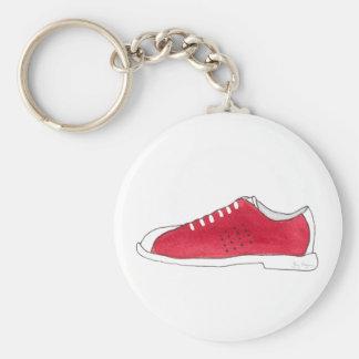 Bowling Shoe Keychain