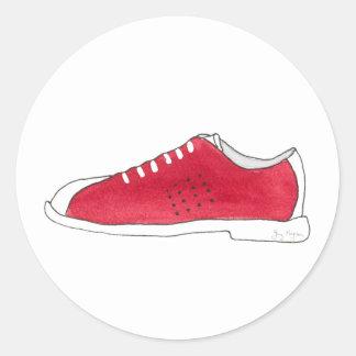 Bowling Shoe Sticker