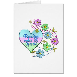Bowling Sparkles Card