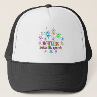 Bowling Sparkles Trucker Hat